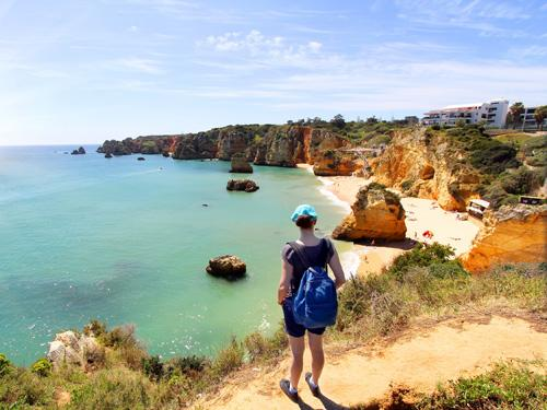 Single Reis Wandelen Door De Algarve