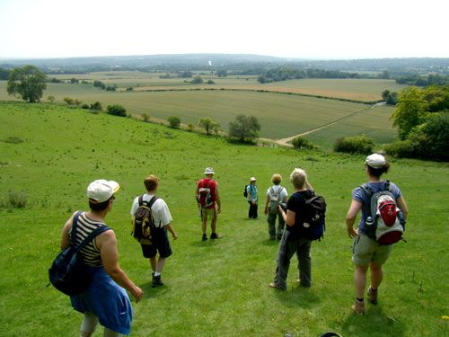 Single Reis Wandelen Kent Downs & Stour Valley