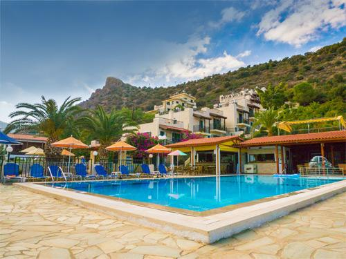 Zonvakantie Kreta Bella Vista Apartments