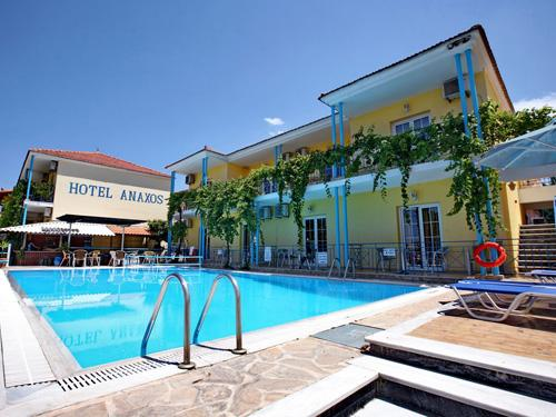 Zonvakantie Lesbos Anaxos Hotel